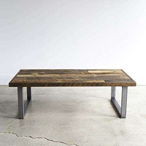 Reclaimed Wood Coffee Table Amazon: Amazon.com: Reclaimed Patchwork Wood Coffee Table: Handmade