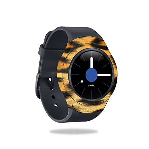 MightySkins Skin Compatible with Samsung Gear S2 Smart Watch Cover wrap Sticker Skins Cheetah by MightySkins