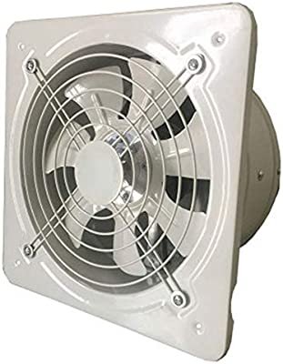 Libertroy Extractor de ventilación Industrial Extractor axial de ...