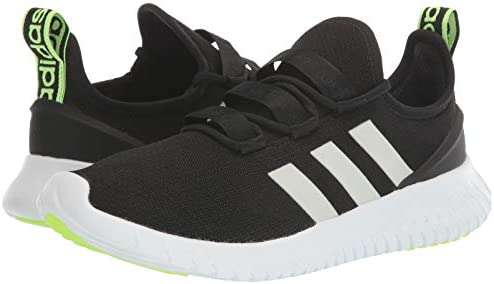 41pKVqcmpwL. AC adidas Men's Kaptir Running Shoe    Play hard or take it easy. These adidas running-inspired shoes are ready for anything. The mesh upper offers a sock-like feel. Soft cushioning means comfort when you explore a street fair or head out of town for the weekend.