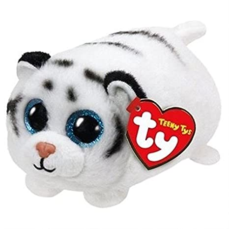 Ty - Teeny Tys Zack, Tigre, 10 cm, Color Blanco (United Labels Ibérica 42209TY): Amazon.es: Juguetes y juegos