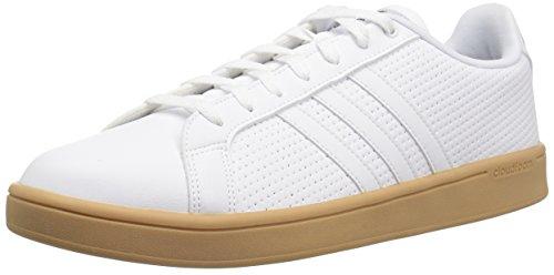 adidas Men's Cf Advantage Sneaker, White/Black, 9 M US ()