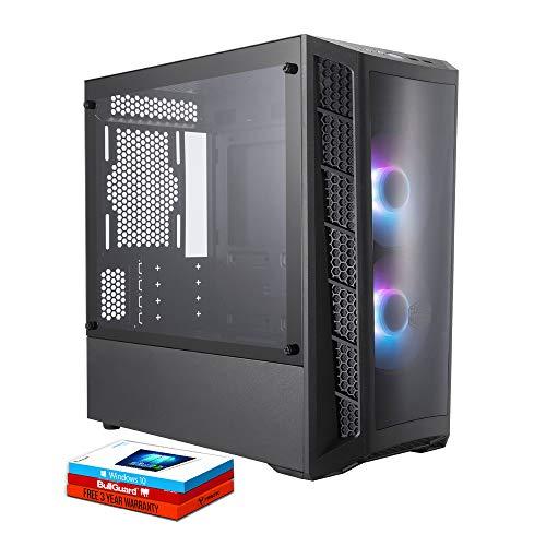 Fierce RGB Gaming PC – Intel Core i7 9700 4.7GHz, RTX 2060 6GB, 16GB 3000MHz, 500GB Solid State Drive, Windows 10…