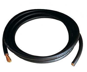 Cable unipolar de cobre revestido de goma blanda específico para soldar de 16 m: Amazon.es: Deportes y aire libre