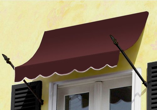 Awntech Beauty Mark New Orleans Entry Awning, 8-Feet (Sunsetter Awning Cover)
