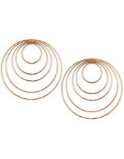 DS. DISTINCTIVE STYLE Metal Hoops Set of 10 Craft Rings Metal Rings for Dream Catcher and Wreath