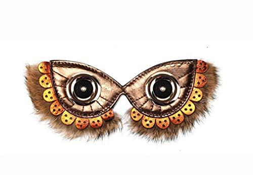pelle Maschera a tracolla Fashion Originale di Design Face Ginny mucca borsa Bag ricambio Double in Messenger jaycel Maska13 Messenger mano Piccola Accessori a Borsa fatta di piccolasmallbagb Donna b6fg7y
