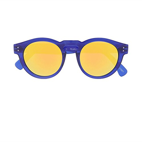 Local Supply Unisex FREEWAY Blue / Gold - Supply Sunglasses Local