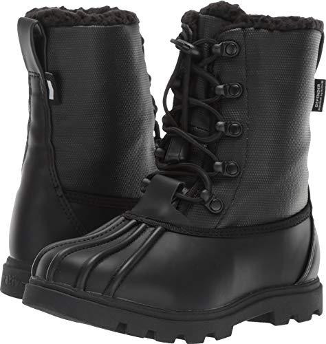 Native Kids Shoes Unisex Jimmy 3.0 Treklite (Little Kid) Jiffy Black/Jiffy Black 2 M US Little Kid (Shoes Boots Jimmy Native)