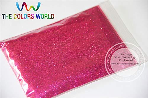 Kamas TCM0912 Bright Rose Red Color Glitter powder -0.2MM glitter dust dazzling glitter powder,DIY Flash powder - (Color: 500g)