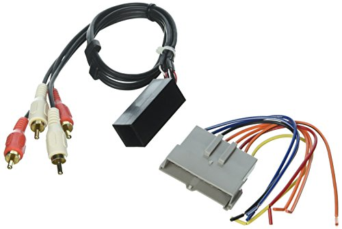 SCOSCHE FDK1B 1989-94 Ford Premium Sound Retention Wire Harness kit; Power and RCA to Dash/Amp Input ()