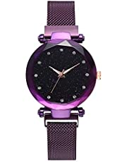 ساعة كوارتز للنساء - - بسوار من الستانلس ستيل