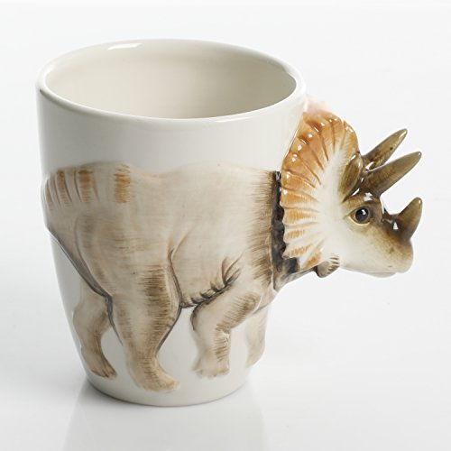 Gibson Home Jurassic Dinosaur Triceratops 18 Ounce Mug -