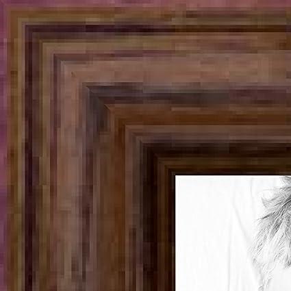 Amazon Arttoframes 3x5 3 X 5 Picture Frame Walnut Stain On