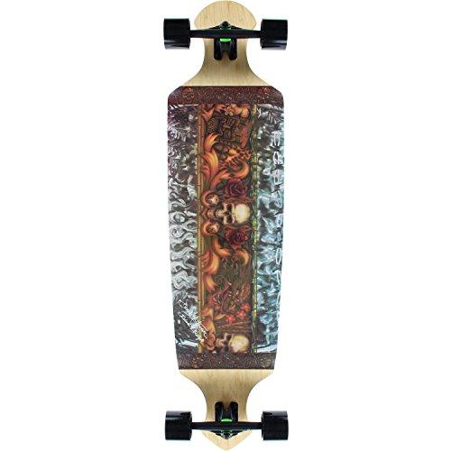 Kahuna Creations Longboard Skateboard (Kahuna Creations Island Lifestyle Complete Longboard - 10.5