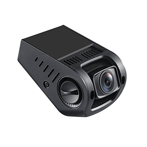 Amazon Lightning Deal 80% claimed: AUTO-VOX A118-C B40C Stealth Car Dashboard Camera Capacitor Edition Covert Mini Dash Cam Full 1080P HD video No Internal Battery 170° Super wide angle 6G Lens with G-sensor WDR Night Vision Loop Recording