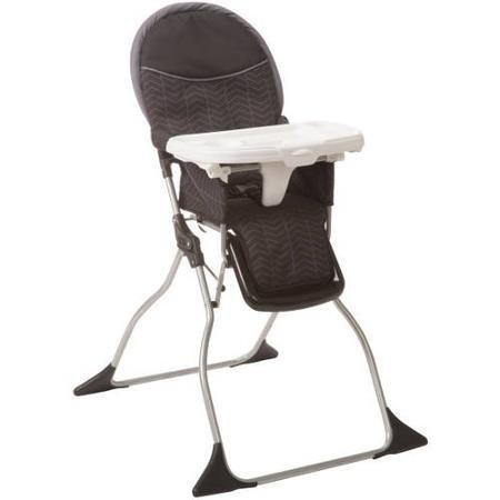 Durable Cosco Simple Fold Plus High Chair, Black Arrow