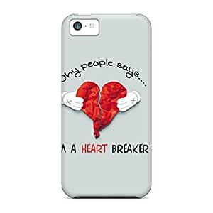 Iphone 5c Cover Case - Eco-friendly Packaging(heart Breaker)
