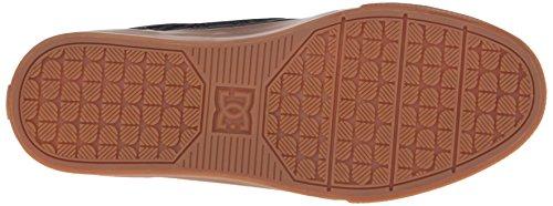 DC Men's Tonik KB Skate Shoe, Black/Grey/Brown, 7.5 M US