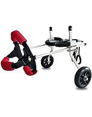MJY Perro alimentos para mascotas para perros Cama Pet Shop Hindlime silla de ruedas/animal Rehabilitación Formación del coche/silla de ruedas/asiento de coche para mascotas Vespa (Color: A, Ta