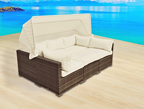 Outdoor Patio Furniture Backyard Sofa Modern All Weather Wicker Sectional 4pc Rattan Resin Couch Set (Austin Tx Outdoor Furniture)