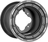 Douglas Wheel Tire G3J-06-029 Ultimate G3 Wheel - 8x6 - 2+4 - 4/110 - Black .125 DBL RL (8x6)