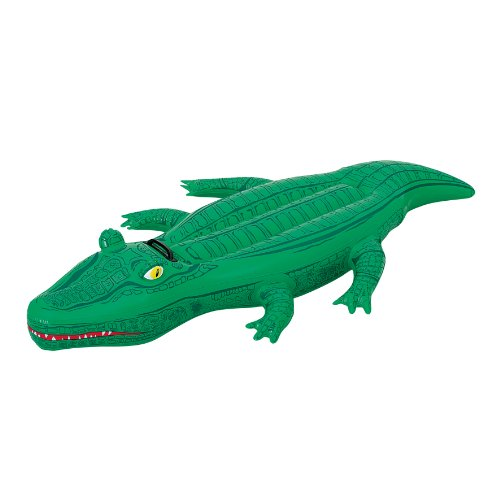 - H2OGO! Crocodile Rider Inflatable Pool Float