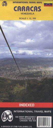 Caracas (Venezuela) 1:12,500 Street Map...