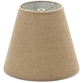 Urbanest Chandelier Lamp Shade 6 Inch Hardback Clip On