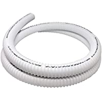 """Sealproof Rollerflex RV Potable Water Fill Hose, 1-3/8"""", 12 FT RV Fexible PVC Tubing, White"""