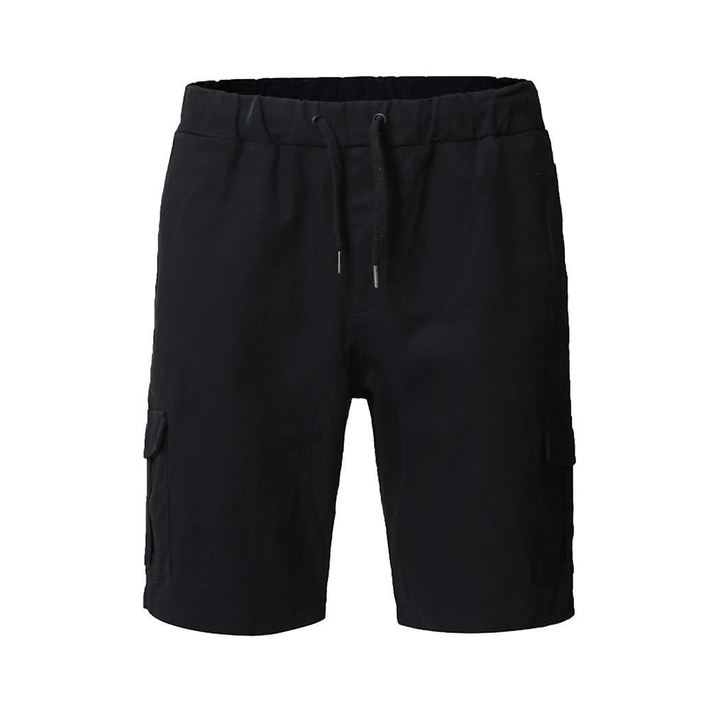 Alangbudu-Men's Pants PANTS メンズ B07PTQS1JW ブラック X-Large