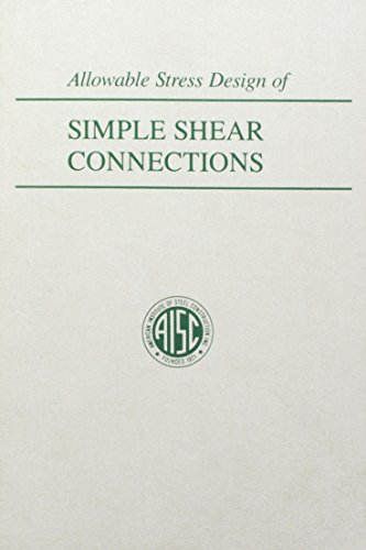 Allowable Stress Design of Simple Shear Connections
