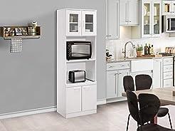 Kings Brand Furniture - Tall Kitchen Pan...