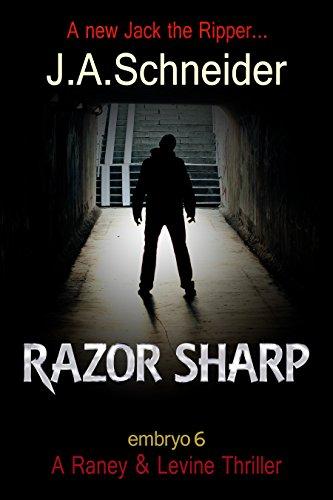 RAZOR SHARP EMBRYO Levine Thriller ebook