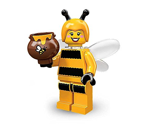 Homemade Kids Bumble Bee Costumes - LEGO Minifigures Series 10 Bee BumbleBee Girl x1 Loose