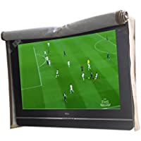 A1Cover Outdoor TV Flap Top Cover ,Scratch Resistant liner protect LED Screen best-Compatible with Standard Mounts and Stands (46, Tan)