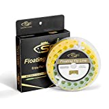 SF Fly Fishing Line with Welded Loop Weight Forward Floating Fly Line WF4F