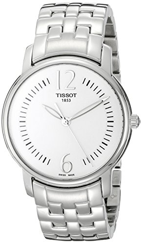 Tissot Women's T052.210.11.037.00 Silver Dial Lady Round Watch