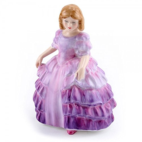 - Royal Doulton Figurine Rose HN2123 Miniature - Made and Handpainted UK