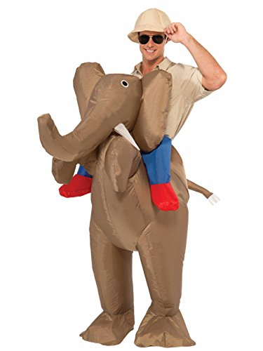 Forum Novelties Men's Ride An Elephant Inflatable Costume, Multi, One Size -