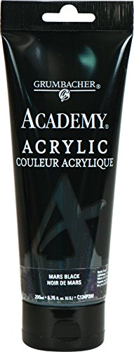 Grumbacher Academy Acrylic Paint, 200ml/6.8 oz. Plastic Tube
