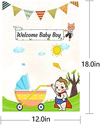 Blue Stars Storks Boy Welcome Home New Baby Bunting