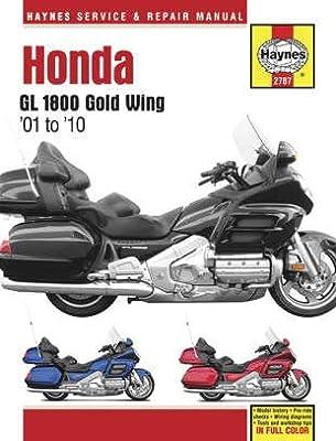Haynes Manuals N/Amanual Hon Gl1800 Gw 01 09 M2787 New