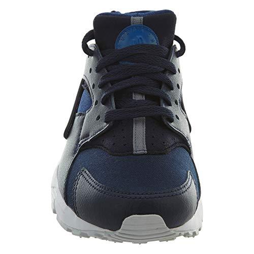 Synthetic Nike 37 Gs Run White Blue textile Huarache Eu Youth Formateurs 5 qAAwax7HfI