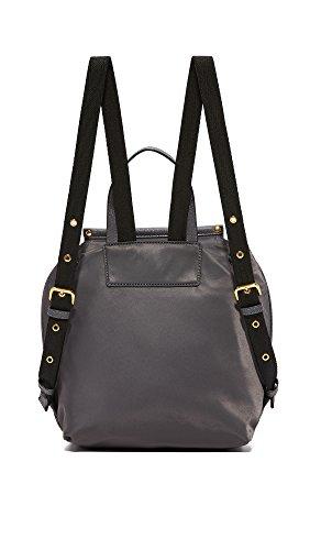 grey new 38x25x12cm Jacobs 33x25x7cm leather nylon rucksack Marc qPg08tzq