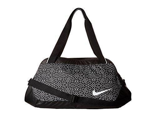 - Nike Legend Club Print Black/Black/White 1 Duffel Bags