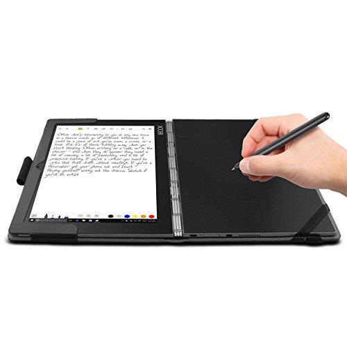 Amazon.com: Infiland Lenovo Yoga Book Case, Folio Premium PU ...