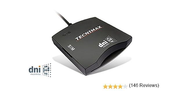 High-Tech HTLTI062S - Lector USB de DNI electrónico y SIM teléfono, Negro: Amazon.es: Informática