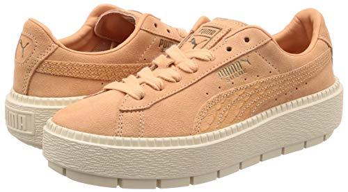 Trace Animal W Chaussures Puma Rouge Platform Suede q1xnOF08