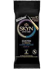 Preservativo Selection com 6 Unidades, SKYN